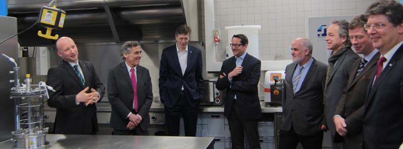 Neues Entwicklungszentrum für Lebensmittelforschung in Lübeck