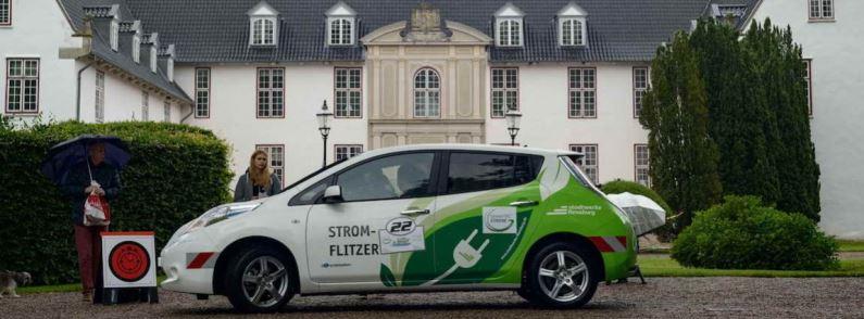 8. Nordeuropäische E-Mobil Rallye