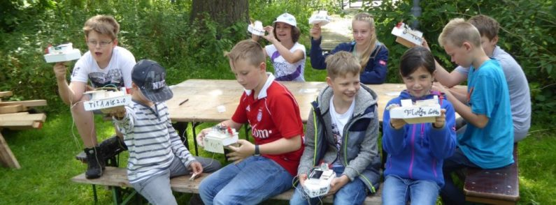 Ferienprojekt Forschercamp des Kinder- und Jugendtreffs Bordesholm
