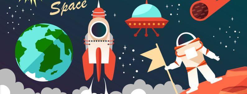 """Kreativwettbewerb """"Faszination Raumfahrt"""" für Schülerinnen und Schüler"""
