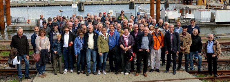 """Historische Technik zum Anfassen für die """"Seeleute"""" vom VDI Hamburg"""